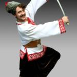 3. ОПРЫШКИ – мужской танец